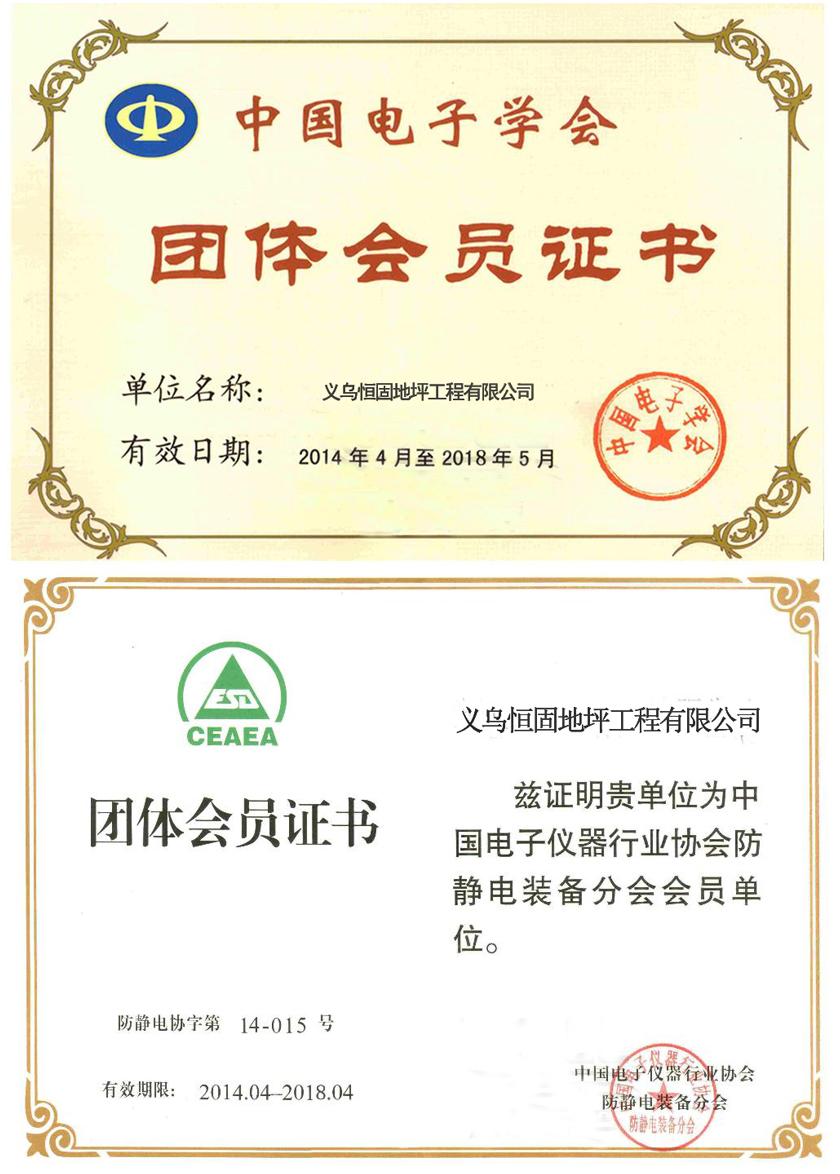 中国电子学会团ti会员zhengshu