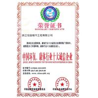 zhong国huan氧、康体行业十大cheng信企业